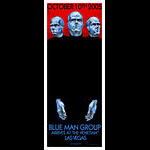 Derek Hess Blue Man Group Poster