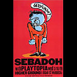 Chris Lindquist Sebadoh Poster