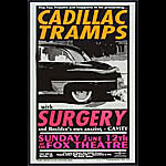 Jeff Holland Cadillac Tramps Poster