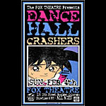 Jeff Holland Dance Hall Crashers Poster