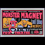 Jeff Holland Monster Magnet Poster