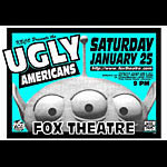 Jeff Holland Ugly Americans Poster