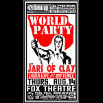 Jeff Holland World Party Poster