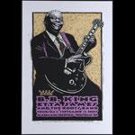 Gary Houston B.B. King Poster