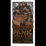 Gary Houston Widespread Panic Poster