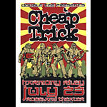 Mike King Cheap Trick Poster