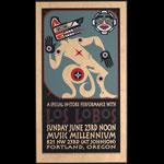 Gary Houston Los Lobos Poster
