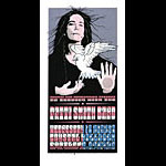 Gary Houston Patti Smith Band Poster