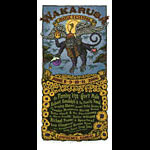 Gary Houston Wakarusa Music Festival Poster