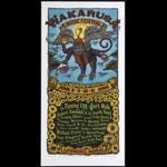 Gary Houston Wakarusa Music Festival Poster