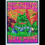 John Howard Roky Erickson Blacklight Style Poster