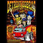 Dirty Donny Detroit Cobras Poster