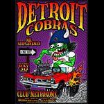 Chris Shaw Detroit Cobras Poster