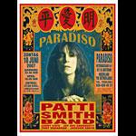 Mark Arminski Patti Smith Poster - signed