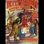 JC Hall Decemberists Poster
