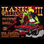 Chris Shaw Hank Williams III Poster