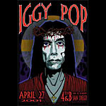 Chris Shaw Iggy Pop Poster
