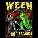 Chris Shaw Ween Poster
