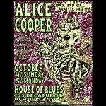 Allen Jaeger Alice Cooper Poster