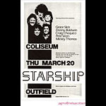 Jagmo - Nels Jacobson Jefferson Starship Poster