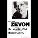 Jagmo - Nels Jacobson Warren Zevon Poster