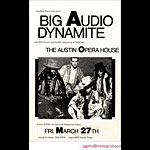 Jagmo - Nels Jacobson Big Audio Dynamite Poster