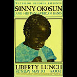 Jagmo - Nels Jacobson Sonny Okosun and his Pan-African Band Poster