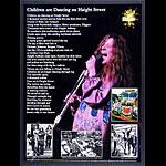 Janis Joplin - Children are Dancing on Haight Street - Unity Foundation 20th Anniversary Poster