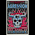 Jimbo Phillips Agression Poster