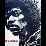 Jimi Hendrix Are You Experienced? Poster