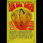 1969 Northern California Folk-Rock Festival Poster
