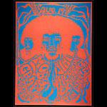 Jimi Hendrix Santa Barbara Concert  Poster