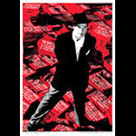 Rob Jones White Stripes Lyon 2003 Poster