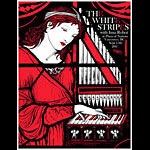 Rob Jones White Stripes Vancouver 2003 Poster