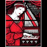 Rob Jones White Stripes Vancouver 2003 Poster
