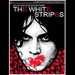 Rob Jones White Stripes LA 2003 Jack Poster