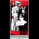 Rob Jones White Stripes Flaming Lips Handbill