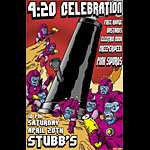 Rob Jones 420 Celebration - Free Range Bastards Poster