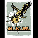 Mike King R.E.M. Poster