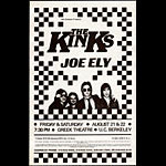 Rare 1981 BG Kinks Photo  Handbill