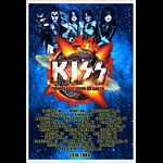 Kiss The Hottest Show On Earth 2010 Tour Poster