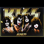 Scarce Kiss Alive 35 Deluxe Tour Poster