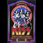 Kiss 1996 Reunion Tour Poster