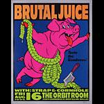 Frank Kozik Brutal Juice Poster