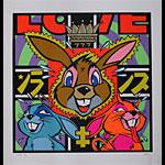 Frank Kozik Love Art Print