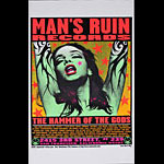 Frank Kozik Man's Ruin Records - The Hammer of the Gods Poster