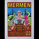 Frank Kozik Mermen Poster