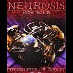 Frank Kozik Neurosis 1996 Tour Poster
