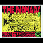 Frank Kozik Nomads 15th Anniversary Show Poster