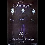 Frank Kozik Swans Poster